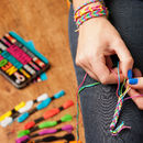 Neon Friendship Bracelet Kit