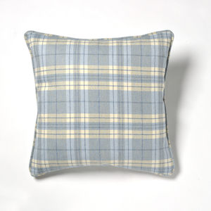 Estate Tartan Pure New Wool Cushion - cushions