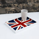Union Flag Lacquer Vanity Tray