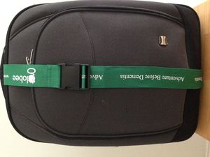 Adventure Before Dementia Luggage Strap - travel & luggage