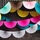 Colourful Fan Party Garland