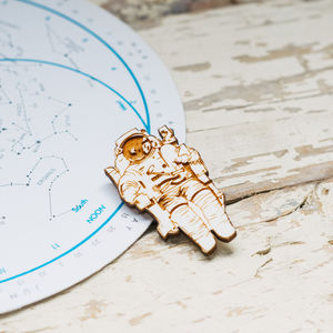 Astronaut Brooch - women's jewellery