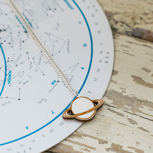 Saturn Necklace - necklaces & pendants