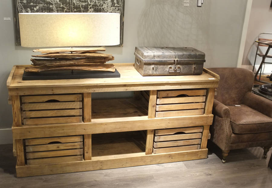 reclaimed aged pine sideboard by cambrewood. Black Bedroom Furniture Sets. Home Design Ideas