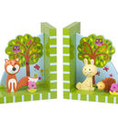 Woodland Friends Bookends