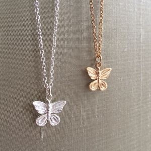 Butterfly Charm Necklace - women's jewellery