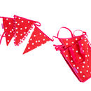 'Happy Dots' Bunting