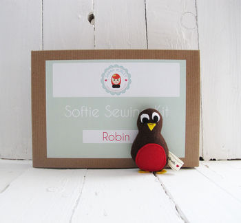 Make Your Own Robin Softie Toy Sewing Kit