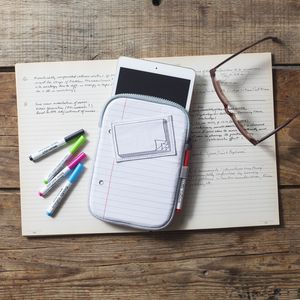 Doodle Notecase For iPad - phone & tablet covers & cases