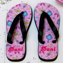 Personalised Princess Flip Flops