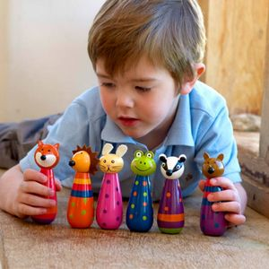 Woodland Friends Skittles - outdoor toys & games