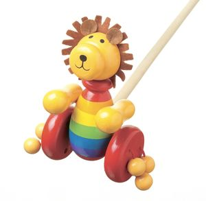 Lion Push Along Toy - children's circus