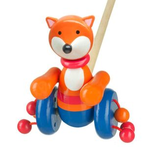 Mr Fox Push Along Toy - toys & games
