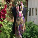Large 'Colourful Butterfly' Pure Silk Scarf