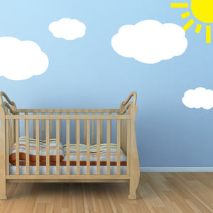 Cloud Wall Stickers - wall stickers
