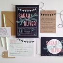 Regatta Wedding Invitation Suite
