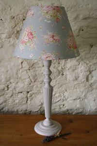 Handpainted Cheltenham Table Lamp - lighting