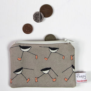 Oyster Catcher Small Zipped Purse