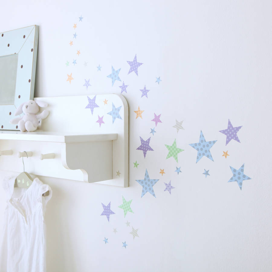 Ordinaire Childrens Star Wall Stickers