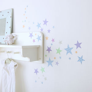 Childrens Star Wall Stickers - wall stickers