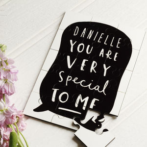 'You Are Special' Personalised Jigsaw Puzzle