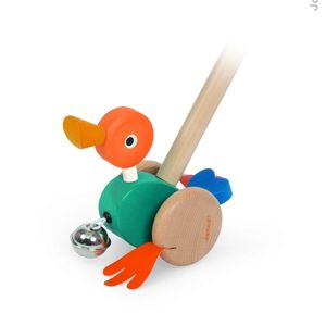 Push Along Duck - traditional toys & games