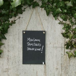 Eco Chalk Board - kitchen
