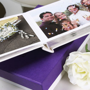 Personalised Wedding Brag Book - albums & guest books