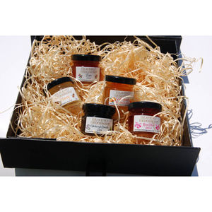 Hedgerow Jam, Jelly And Honey Mini Hamper - boxes & hampers