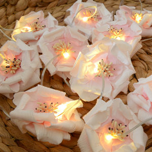 Rose Fairy Lights - room decorations