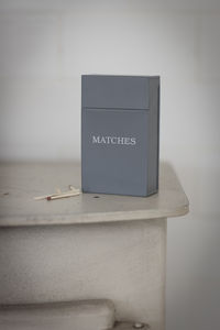 Match Box Tin - fireplace accessories