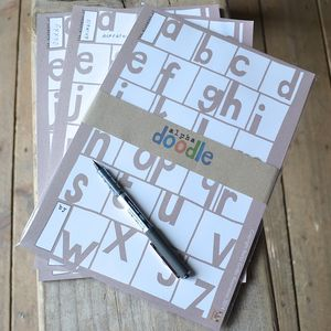 Alphadoodle Alphabet Game - board games