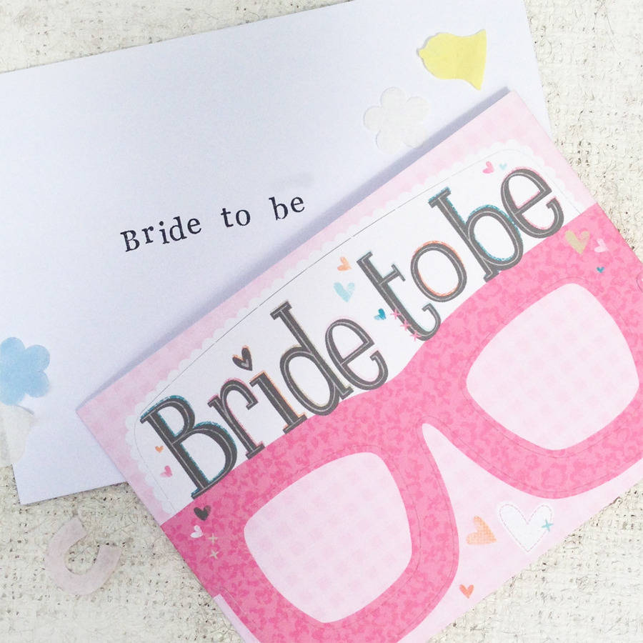 Hen Party Bridal Card Gles