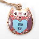 Thank You Owl Hanging Gift, Teacher