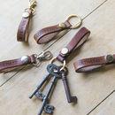 Personalised Key Leathers