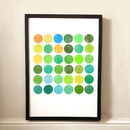 Colour Play Abstract Art Print