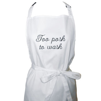 Personalised Embroidered Apron