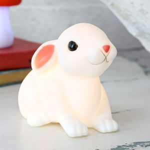 Baby Bunny Night Light - baby's room