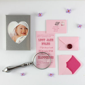 Girl's And Boy's Christening Gift Keepsake - christening gifts