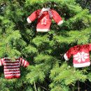Set Of Three Mini Knit Christmas Jumper Decorations