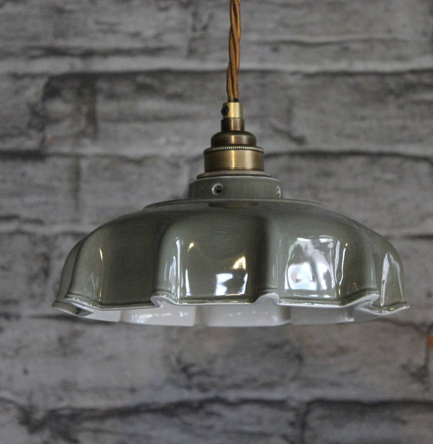 Campbell slate ceramic pendant light by lyngard ceramics campbell slate ceramic pendant light aloadofball Image collections