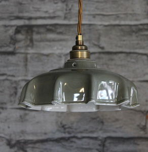 Campbell Slate Ceramic Pendant Light - lighting