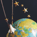 To Infinity Space Shuttle Necklace