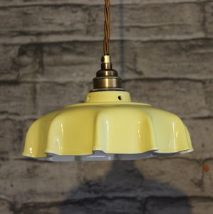 Campbell Primrose Ceramic Pendant Light - ceiling lights