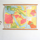 Vintage Map, Cradles Of Civilization
