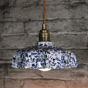 Campbell Pimpernel Ceramic Pendant Light - ceiling lights