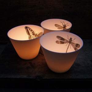 Insect Tea Light Holders - lighting