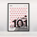 'Le Tra Tour De France 101' Ltd Edition Screen Print