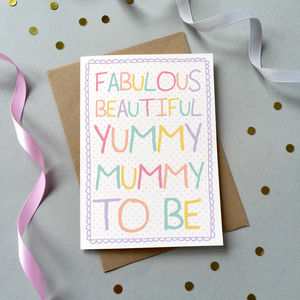 'Mum To Be' Card - gifts for mums-to-be