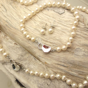 Heart And Pearls Set - jewellery sets